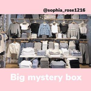 Mystery box urban put fitters brandy Melville+ big